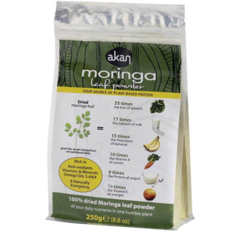 Akan Moringa Powder 250g
