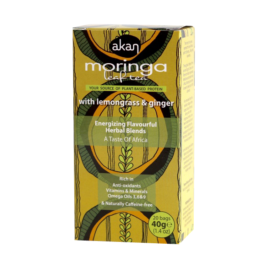 Moringa, Lemongrass & Ginger Tea (40g)